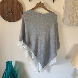 The Limited Grey Poncho